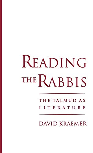9780195096231: Reading the Rabbis: The Talmud as Literature