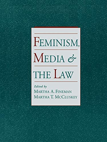 9780195096293: Feminism, Media, and the Law