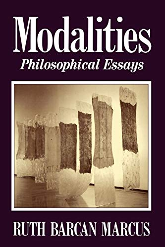 9780195096576: Modalities: Philosophical Essays
