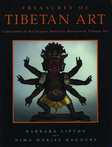 9780195097146: Treasures of Tibetan Art: The Collections of the Jacques Marchais Museum of Tibetan Art