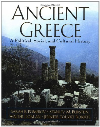 9780195097429: Ancient Greece: A Political, Social, and Cultural History