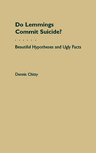 9780195097856: Do Lemmings Commit Suicide?: Beautiful Hypotheses and Ugly Facts