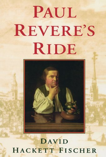 Paul Revere's Ride (0195098315) by David Hackett Fischer