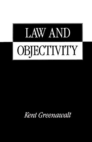9780195098334: Law and Objectivity
