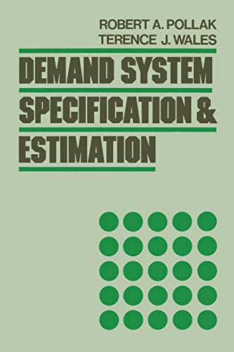 9780195101218: Demand System Specification and Estimation