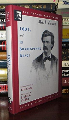 1601, and, Is Shakespeare Dead?: Twain, Mark