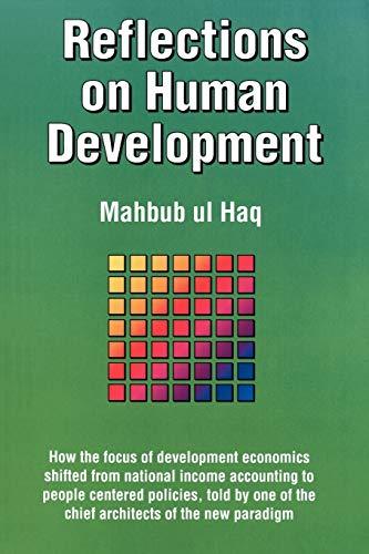 9780195101935: Reflections on Human Development