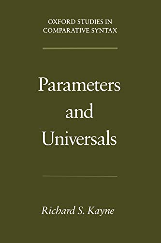 9780195102369: Parameters and Universals (Oxford Studies in Comparative Syntax)