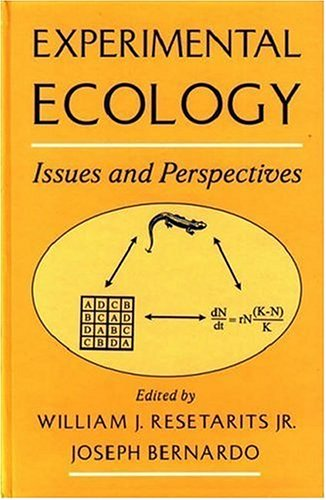 9780195102413: Experimental Ecology: Issues and Perspectives