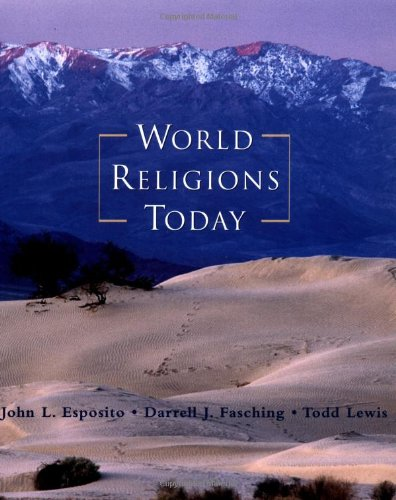 9780195102536: World Religions Today