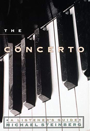 9780195103304: The Concerto: A Listener's Guide