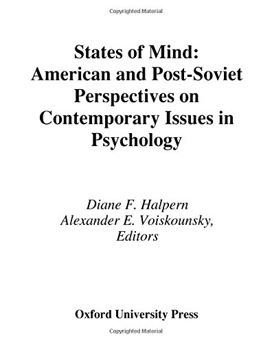 9780195103502: States of Mind: American and Post-Soviet Perspectives on Contemporary Issues in Psychology