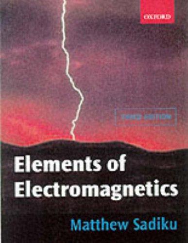 9780195103687: Elements of Electromagnetics