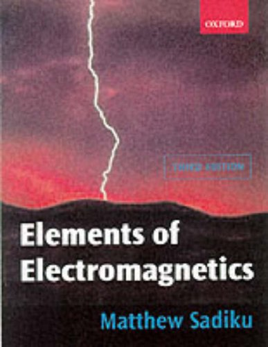9780195103687: Elements of Electromagnetics