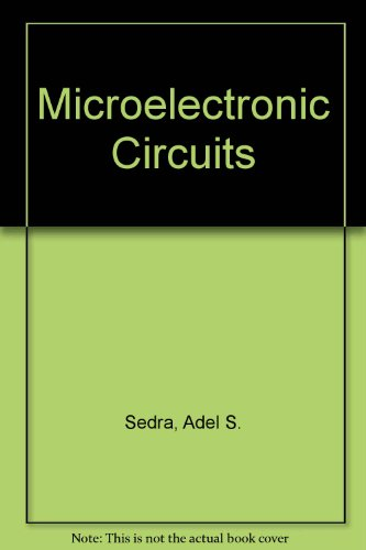 9780195103694: Microelectronic Circuits: International Student Edition