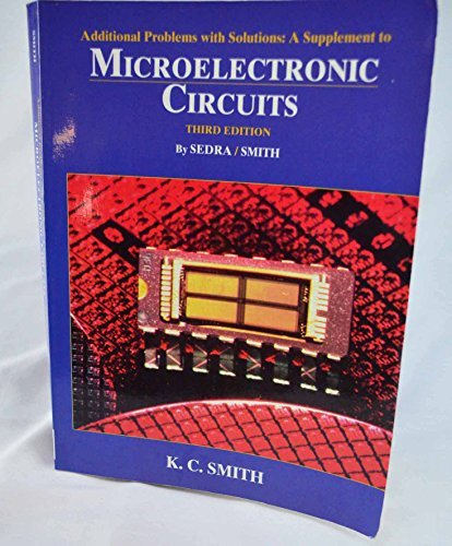 9780195103700: Microelectronic Circuits (The Oxford Series in Electrical and Computer Engineering)