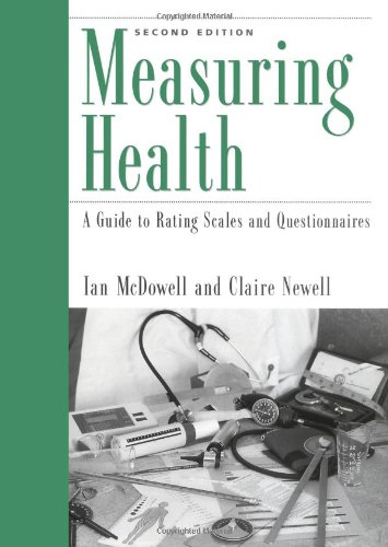 9780195103717: Measuring Health: A Guide to Rating Scales and Questionnaires