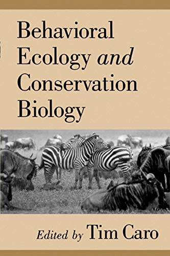 9780195104905: Behavioral Ecology and Conservation Biology