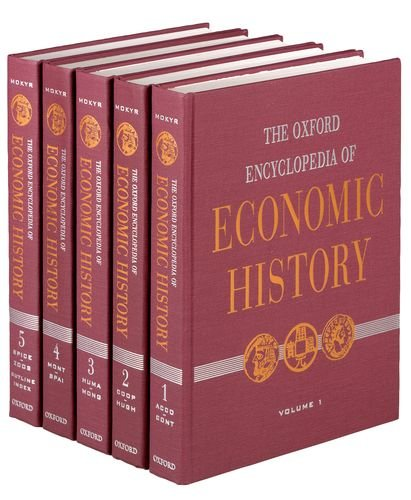 9780195105070: The Oxford Encyclopedia of Economic History