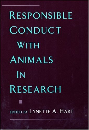 9780195105124: Responsible Conduct with Animals in Research