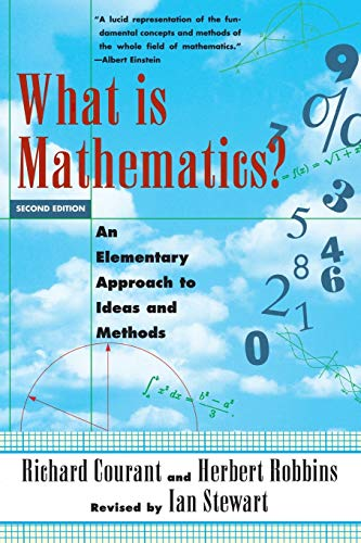 9780195105193: What Is Mathematics? An Elementary Approach to Ideas and Methods