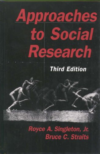 9780195105254: Approaches to Social Research