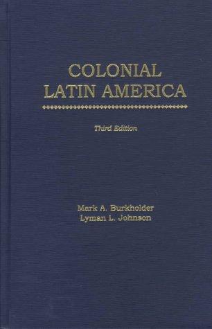 9780195105353: Colonial Latin America