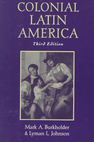9780195105360: Colonial Latin America