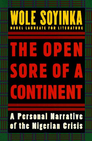 9780195105575: The Open Sore of a Continent: A Personal Narrative of the Nigerian Crisis (The W.E.B. Du Bois Institute Series)