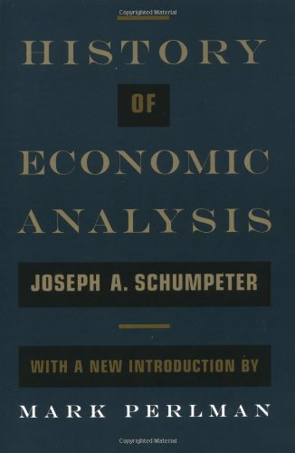 9780195105599: History of Economic Analysis: With a New Introduction