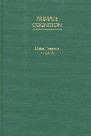 9780195106237: Primate Cognition