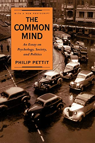 9780195106459: The Common Mind: An Essay on Psychology, Society, and Politics