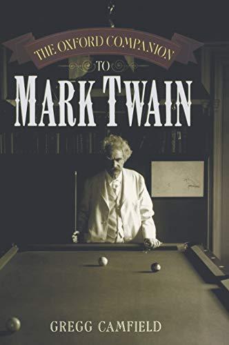 9780195107104: The Oxford Companion to Mark Twain