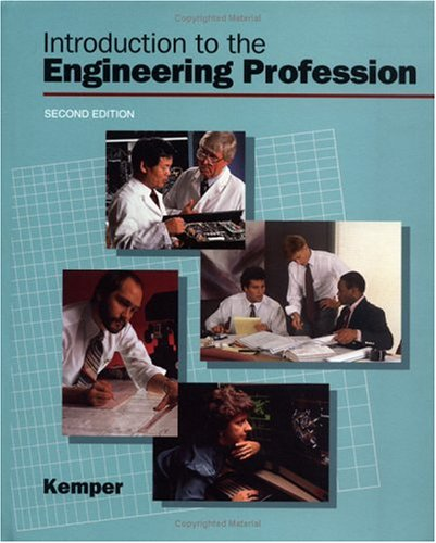 9780195107272: Introduction to the Engineering Profession