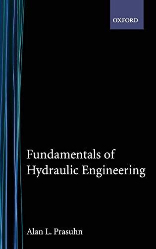 9780195107326: Fundamentals of Hydraulic Engineering
