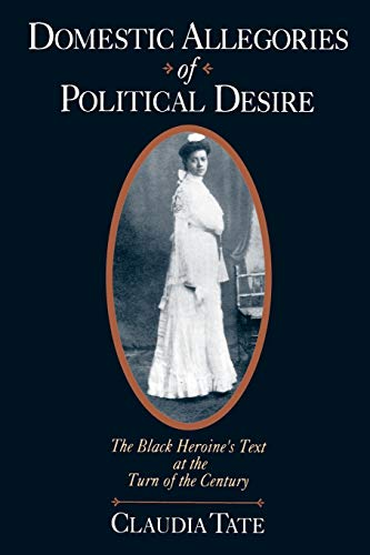 9780195108576: Domestic Allegories of Political Desire: The Black Heroine's Text at the Turn of the Century