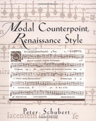 9780195109122: Modal Counterpoint, Renaissance Style