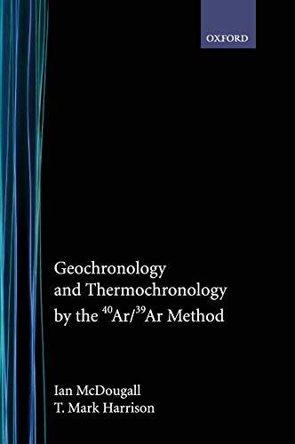 9780195109207: Geochronology and Thermochronology by the 40ar/39ar Method