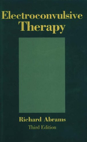 9780195109443: Electroconvulsive Therapy