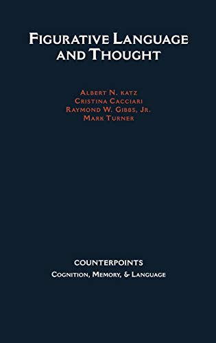 Counterpoints Cognition Memory and Language Figurative Language: Mark Turner
