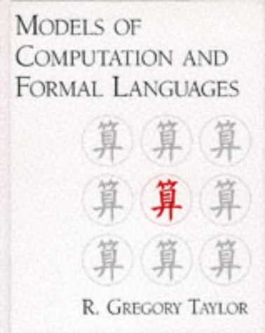 9780195109832: Models of Computation and Formal Languages