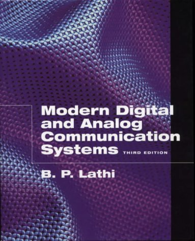 9780195110098: Modern Digital and Analog Communication Systems (The Oxford Series in Electrical and Computer Engineering)