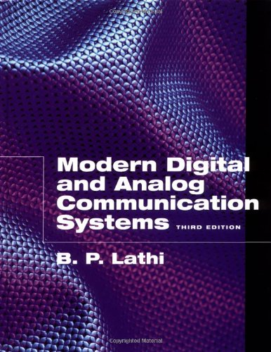 Modern Digital and Analog Communication Systems (The