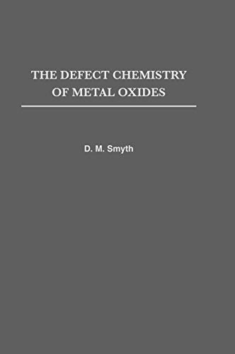 9780195110142: The Defect Chemistry of Metal Oxides (Monographs on the Physics and Chemistry of Materials)