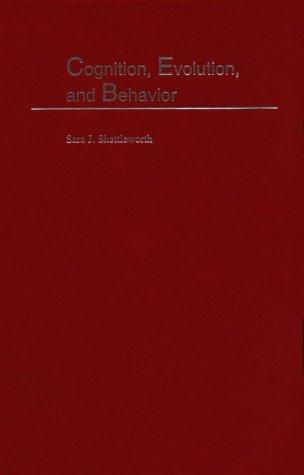 9780195110470: Cognition, Evolution, and Behavior