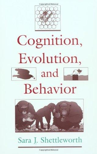 9780195110487: Cognition, Evolution, and Behavior
