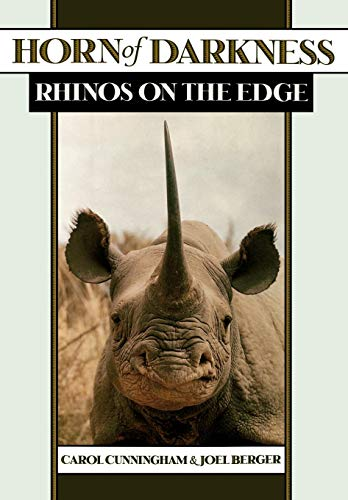 9780195111132: Horn of Darkness: Rhinos on the Edge
