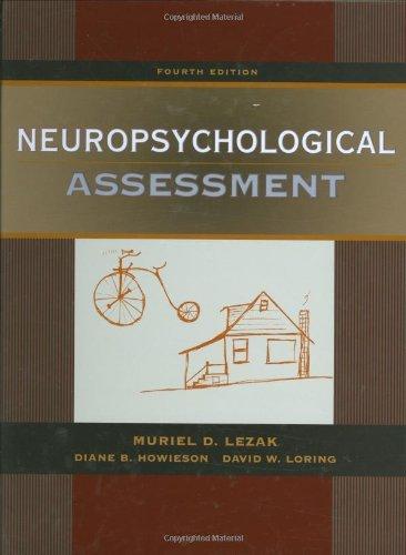 9780195111217: Neuropsychological Assessment