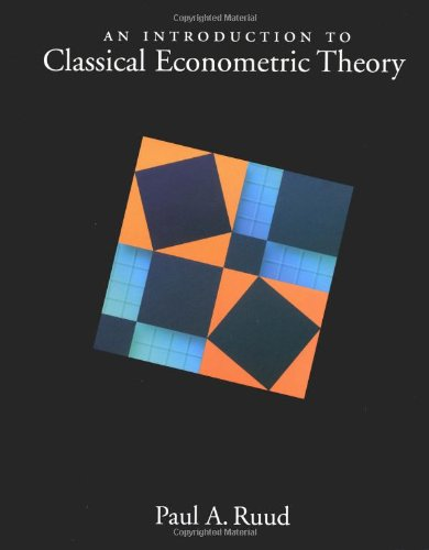 9780195111644: An Introduction to Classical Econometric Theory
