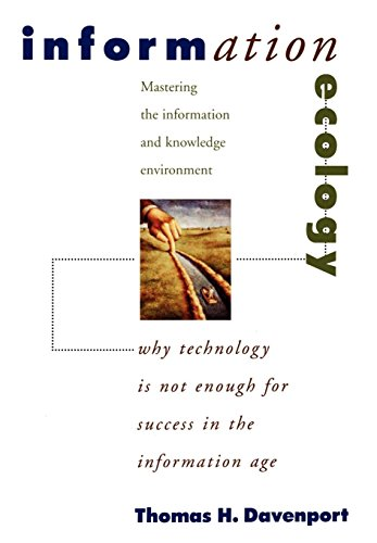 9780195111682: Information Ecology: Mastering the Information and Knowledge Environment